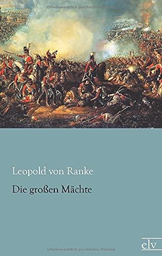 9783862675913: Die grossen Maechte (German Edition)