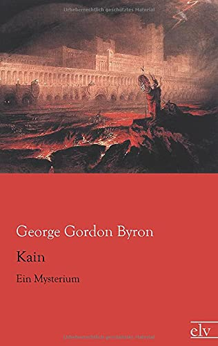 9783862676095: Kain: Ein Mysterium (German Edition)