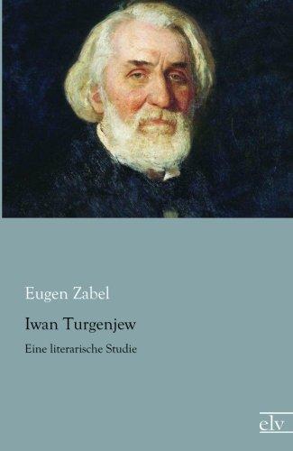 9783862677771: Iwan Turgenjew: Eine literarische Studie