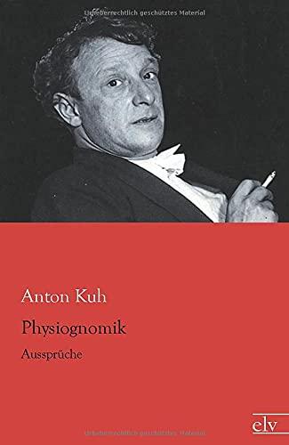 9783862679065: Physiognomik: Aussprueche (German Edition)