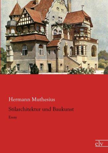 9783862679119: Stilarchitektur und Baukunst: Essay