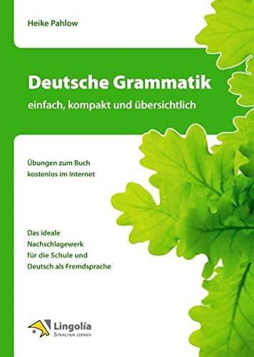 9783862680122: Deutsche Grammatik - einfach, kompakt und �bersichtlich