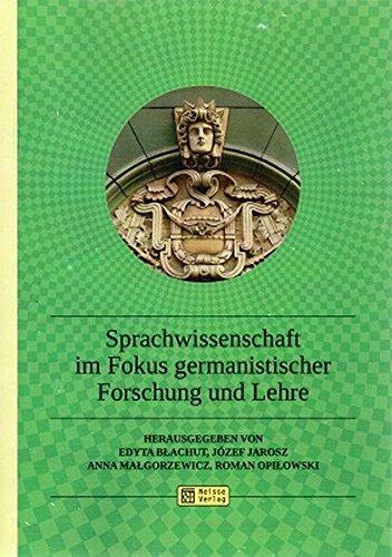 9783862761012: Sprachwissenschaft im Fokus germanistischer Forschung und Lehre