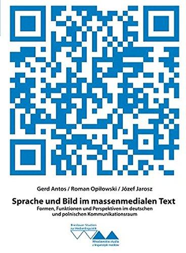 9783862761371: Sprache und Bild im massenmedialen Text