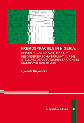 9783862882854: Fremdsprachen in Nigeria (Foreign Languages in Nigeria)