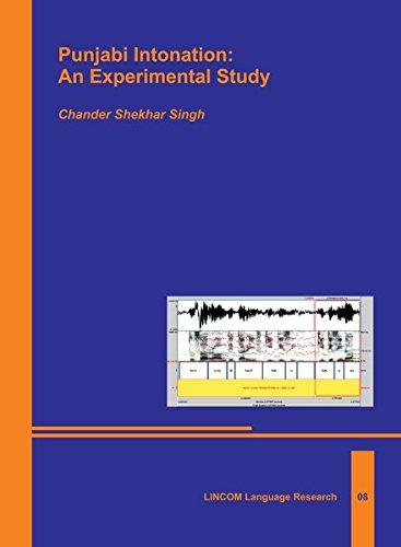 9783862885558: Punjabi Intonation: An Experimental Study