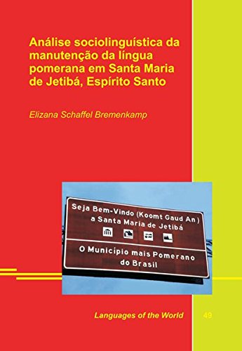Análise sociolinguística da manutenção da língua pomerana em ...