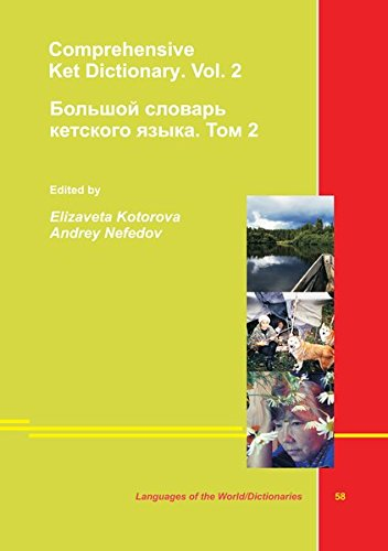 9783862886388: Comprehensive Dictionary of Ket with Russian, German and English Translations. Vol. II