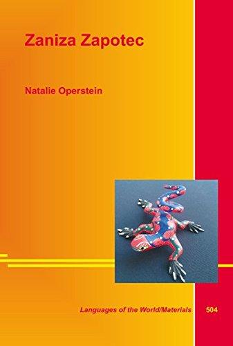 Zaniza Zapotec: Operstein, Natalie