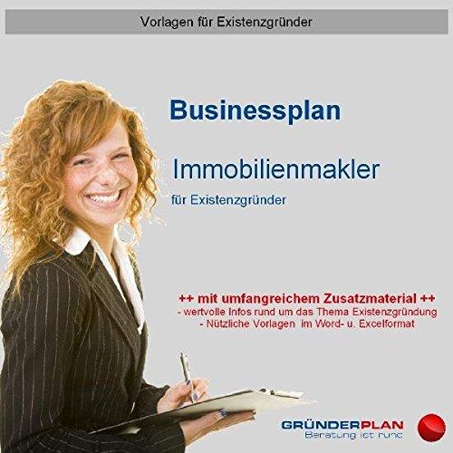 9783863070236: Businessplan Immobilienmakler für Existenzgründer
