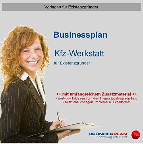 9783863070267: Businessplan Kfz-Werkstatt für Existenzgründer