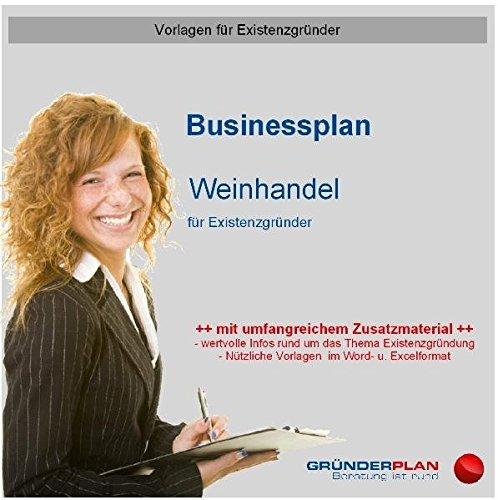 9783863070458: Businessplan Weinhandel f�r Existenzgr�nder