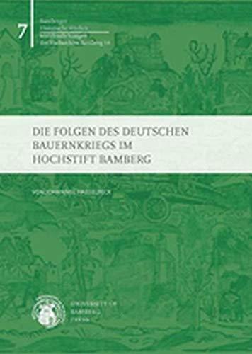 9783863090661: Die Folgen des Deutschen Bauernkriegs im Hochstift Bamberg