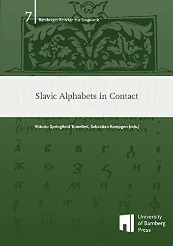 9783863092764: Slavic Alphabets in Contact