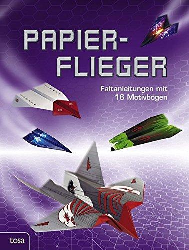 9783863134020: Papierflieger: Faltanleitungen mit 16 Motivbögen