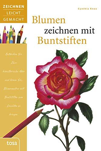Blumen zeichnen mit Buntstiften (3863135652) by Cynthia Knox