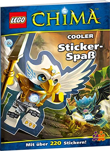 9783863182304: LEGO Chima. Cooler Sticker-Spaß