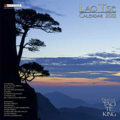 9783863230166: Lao Tse Calendar 2012. Mindful edition: From the Tao te King