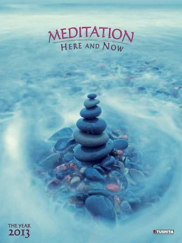 9783863235628: Meditation here and now 2013. Decor Calendar