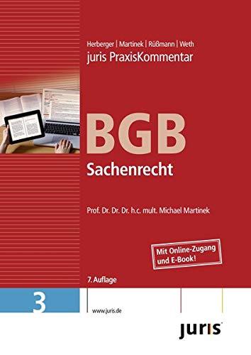 juris Praxiskommentar BGB 03 Gesamtausgabe / Sachenrecht