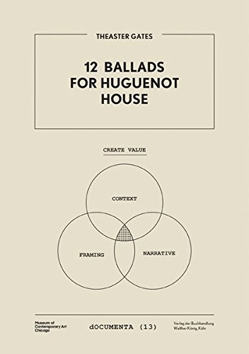 9783863352035: Theaster Gates: 12 Ballads for Hugenot House (dOCUMENTA)