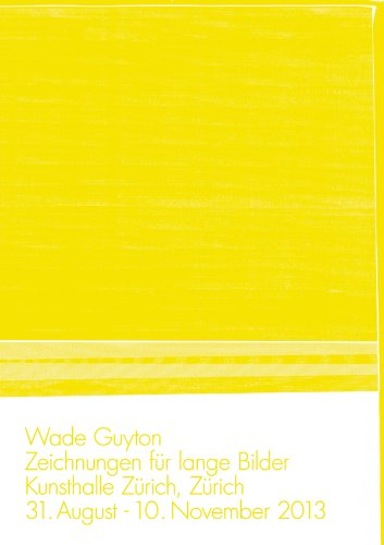 Wade Guyton: Zeichnungen für Lange Bilder