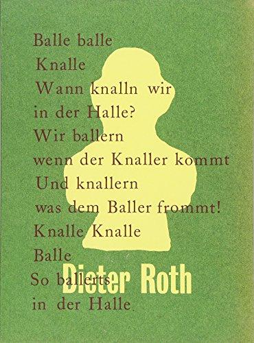 9783863356521: Dieter Roth. Balle balle Knalle: Kunstmuseum Stuttgart