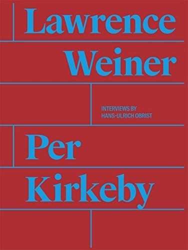 9783863357993: Per Kirkeby and Lawrence Weiner