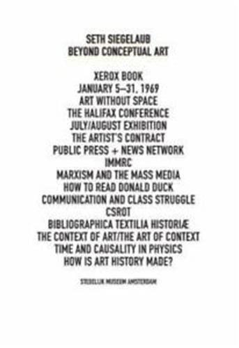 9783863358242: Seth Siegelaub: Beyond Conceptual Art