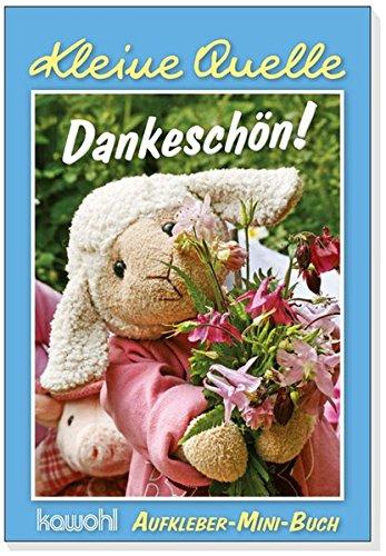 9783863388119: Dankeschön!: Aufkleber-Mini-Buch