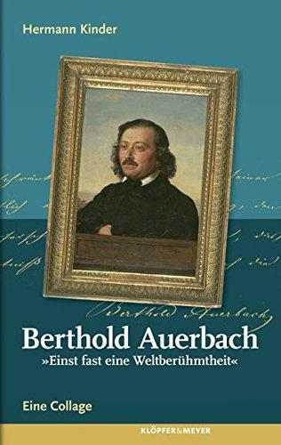 """Stock image for Berthold Auerbach. """"Einst fast eine Weltberühmtheit"""" for sale by Better World Books"""