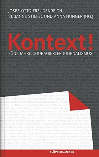 9783863515171: Kontext!: Fünf Jahre couragierter Journalismus