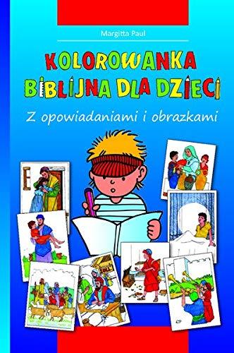 Kinder-Mal-Bibel (Polnisch): Zum Ausmalen und Vorlesen: Margitta Paul