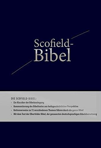 Scofield Bibel mit Elberfelder 2006 - Kunstleder