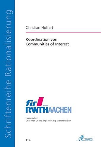 9783863591397: Koordination von Communities of Interest