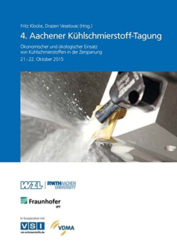 4. Aachener Kühlschmierstoff-Tagung: Fritz Klocke