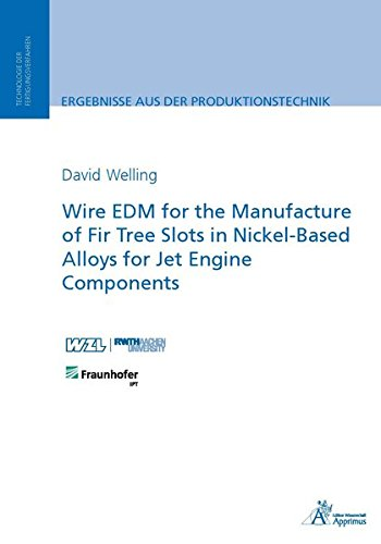 Wire EDM for the Manufacture of Fir: David Welling