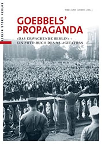 9783863680718: Goebbels' Propaganda