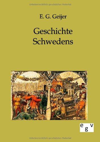 Geschichte Schwedens: E. G. Geijer