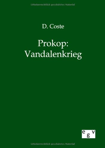 Prokop: Vandalenkrieg: D. Coste