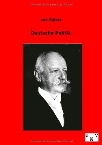 Deutsche Politik: von B�low