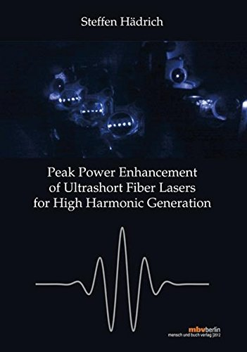 9783863871147: Peak Power Enhancement of Ultrashort FiberLasers for High Harmonic Generation