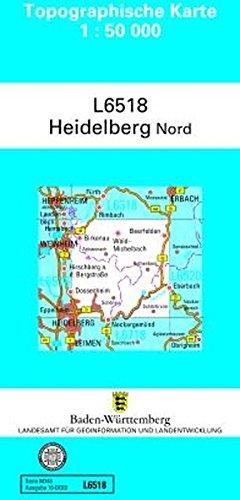9783863982843: Heidelberg Nord 1 : 50 000