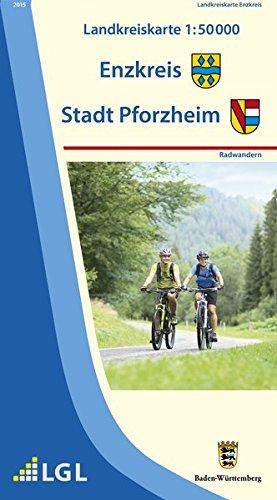 9783863984083: Landkreis Enzkreis Pforzheim RW: Radwandern. 1 : 50.000