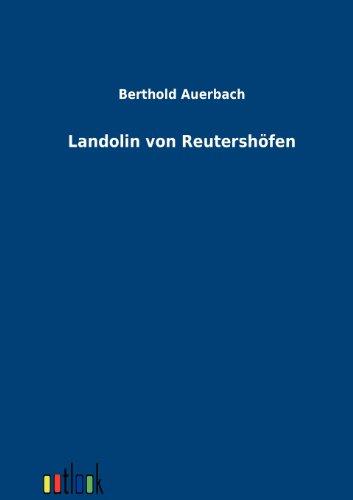 9783864030673: Landolin von Reutershöfen