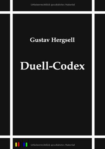 Duell-Codex: Hergsell Gustav