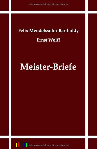 9783864031236: Meister-Briefe (German Edition)