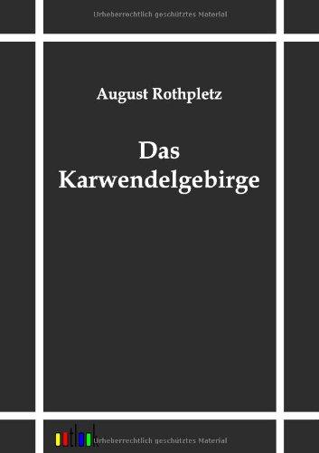 9783864031984: Das Karwendelgebirge