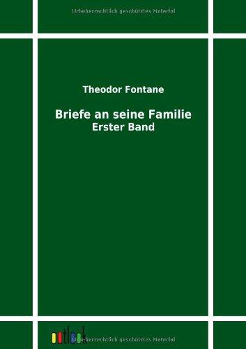 9783864033001: Briefe an seine Familie (German Edition)