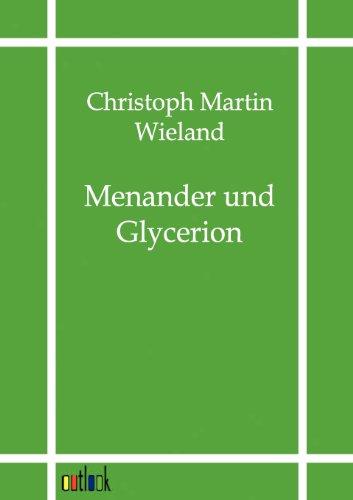 9783864035982: Menander und Glycerion (German Edition)